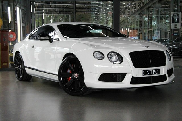 Used Bentley Continental GT V8 S, North Melbourne, 2015 Bentley Continental GT V8 S Coupe