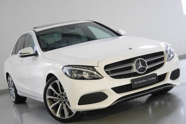 Used Mercedes-Benz C300 9G-Tronic, Chatswood, 2017 Mercedes-Benz C300 9G-Tronic Sedan