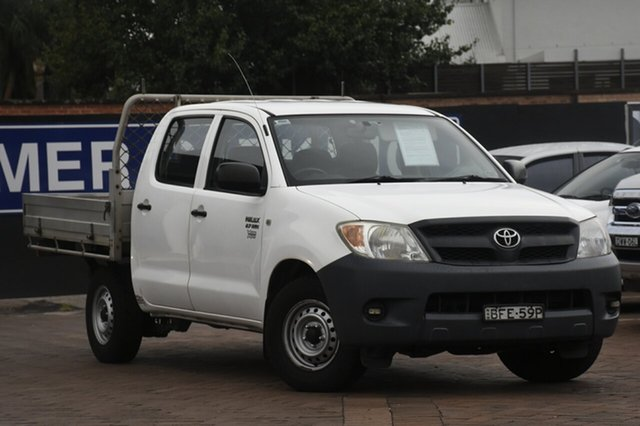 Discounted Used Toyota Hilux Workmate 4x2, Warwick Farm, 2007 Toyota Hilux Workmate 4x2 Utility