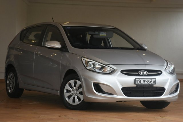Discounted Used Hyundai Accent Active, Narellan, 2016 Hyundai Accent Active Hatchback