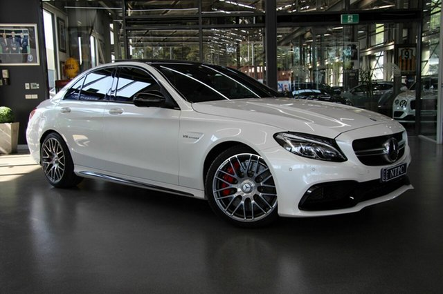 Used Mercedes-Benz C63 AMG SPEEDSHIFT MCT S, North Melbourne, 2017 Mercedes-Benz C63 AMG SPEEDSHIFT MCT S Sedan