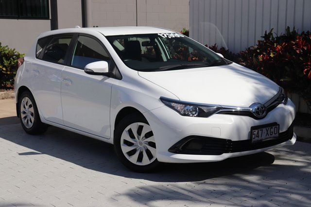 Used Toyota Corolla Ascent S-CVT, Cairns, 2017 Toyota Corolla Ascent S-CVT Hatchback