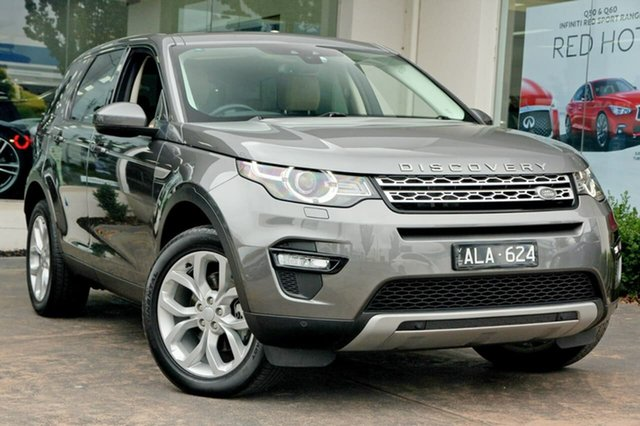 Used Land Rover Discovery Sport TD4 180 HSE, Doncaster, 2016 Land Rover Discovery Sport TD4 180 HSE Wagon