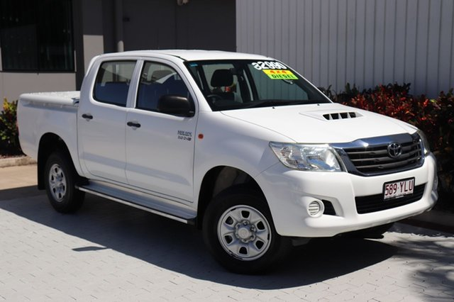 Used Toyota Hilux SR Double Cab, Cairns, 2013 Toyota Hilux SR Double Cab Utility