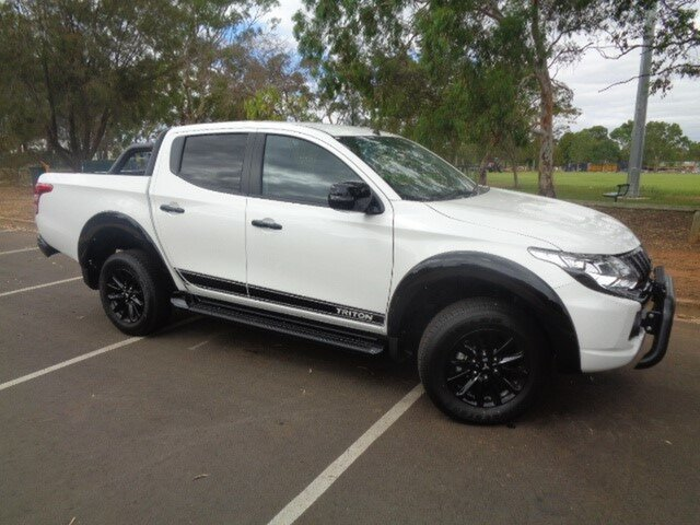 Demonstrator, Demo, Near New Mitsubishi Triton Blackline Double Cab, Nailsworth, 2018 Mitsubishi Triton Blackline Double Cab Utility