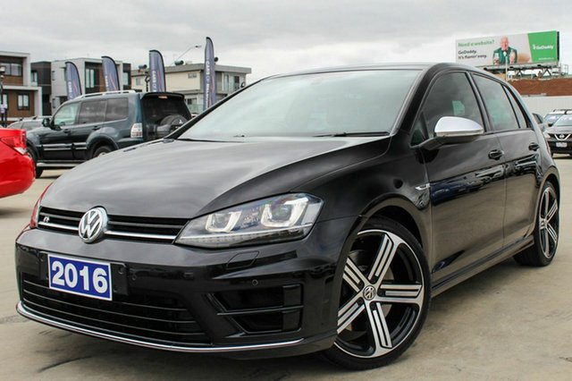 Discounted Used Volkswagen Golf R DSG 4MOTION, Coburg North, 2016 Volkswagen Golf R DSG 4MOTION Hatchback