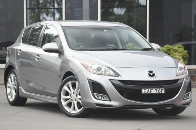 Used Mazda 3 SP25 Activematic, Narellan, 2010 Mazda 3 SP25 Activematic Hatchback
