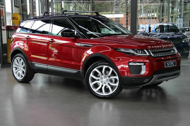 Used Land Rover Range Rover Evoque TD4 150 SE, North Melbourne, 2017 Land Rover Range Rover Evoque TD4 150 SE Wagon