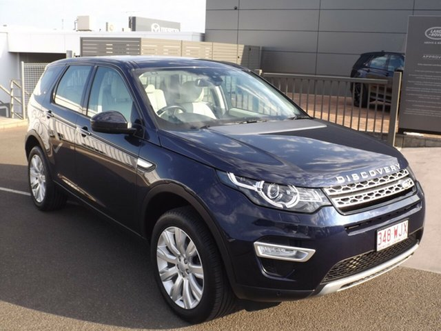 Used Land Rover Discovery Sport SD4 HSE, Toowoomba, 2015 Land Rover Discovery Sport SD4 HSE Wagon