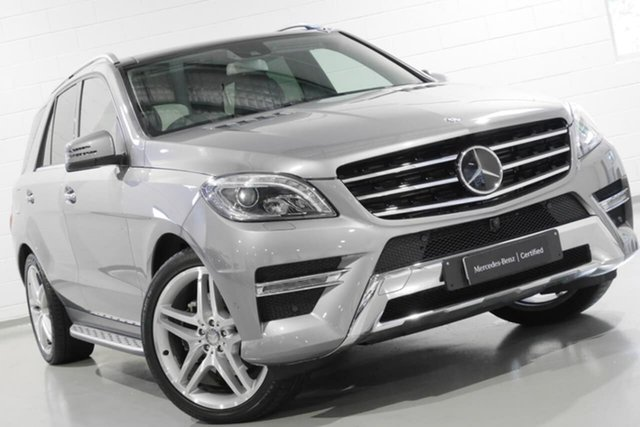 Used Mercedes-Benz ML350 BlueTEC 7G-Tronic +, Narellan, 2015 Mercedes-Benz ML350 BlueTEC 7G-Tronic + Wagon