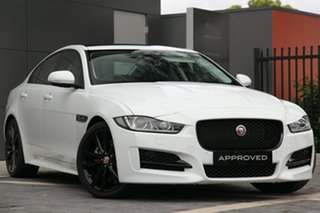 2017 Jaguar XE 20d R-Sport Sedan.