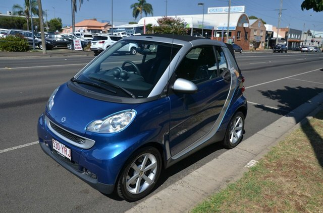 Used Smart ForTwo Cabrio, Toowoomba, 2008 Smart ForTwo Cabrio Cabriolet