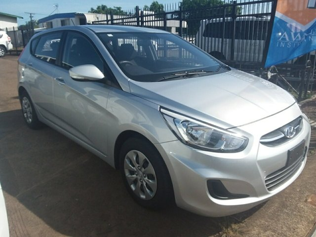 Used Hyundai Accent Active, Parap, 2016 Hyundai Accent Active Hatchback
