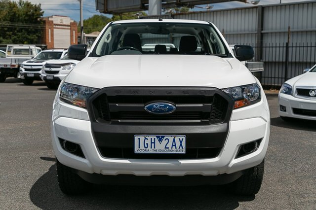 Used Ford Ranger XL 2.2 Hi-Rider (4x2), Oakleigh, 2015 Ford Ranger XL 2.2 Hi-Rider (4x2) PX MkII Crew Cab Chassis