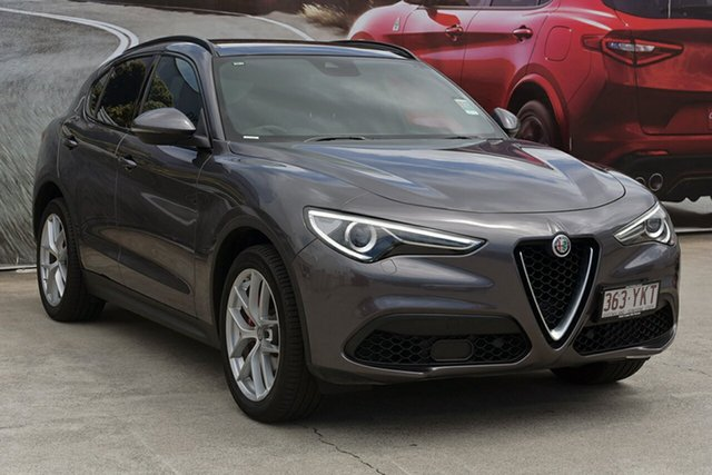 Demonstrator, Demo, Near New Alfa Romeo Stelvio Ti AWD, Southport, 2018 Alfa Romeo Stelvio Ti AWD Wagon