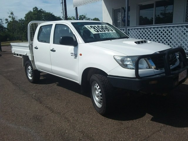 Used Toyota Hilux SR (4x4), Parap, 2015 Toyota Hilux SR (4x4) Dual Cab Pick-up