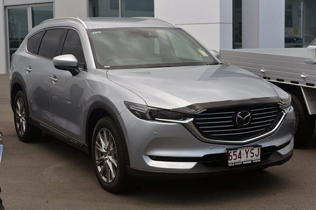 Demonstrator, Demo, Near New Mazda CX-8 Asaki (AWD) (5Yr), Southport, 2019 Mazda CX-8 Asaki (AWD) (5Yr) Wagon