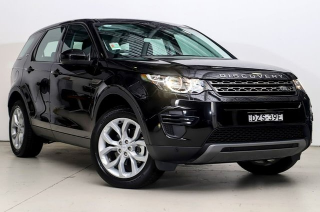 Demonstrator, Demo, Near New Land Rover Discovery Sport TD4 110kW SE, Alexandria, 2017 Land Rover Discovery Sport TD4 110kW SE Wagon