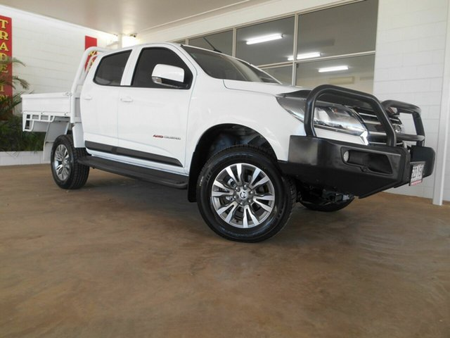 Used Holden Colorado LS Crew Cab, Mount Isa, 2016 Holden Colorado LS Crew Cab RG MY17 Cab Chassis
