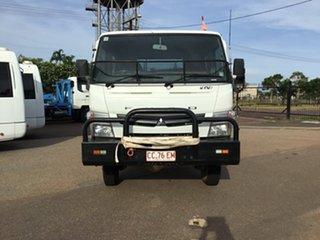 2013 Mitsubishi Fuso Canter FG84D (4x4) MWB Crew Cab Chassis.