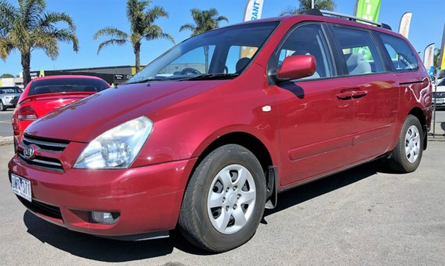 Used Kia Grand Carnival with RWC & REG, Cheltenham, 2007 Kia Grand Carnival with RWC & REG Wagon