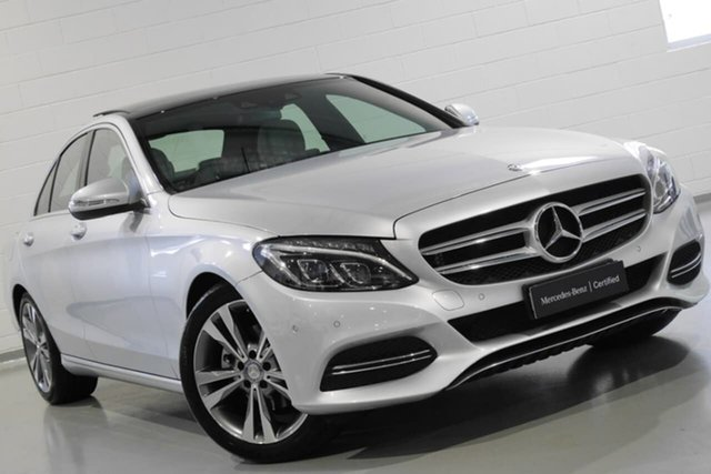Used Mercedes-Benz C200 7G-Tronic +, Warwick Farm, 2014 Mercedes-Benz C200 7G-Tronic + Sedan