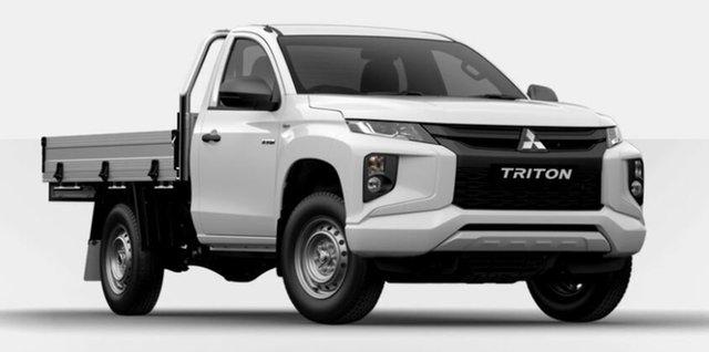 New Mitsubishi Triton GLX, Atherton, 2019 Mitsubishi Triton GLX Cab Chassis