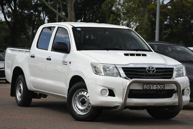 Used Toyota Hilux SR Double Cab 4x2, Warwick Farm, 2015 Toyota Hilux SR Double Cab 4x2 Utility