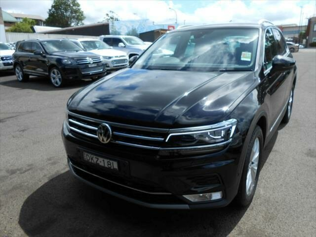 Demonstrator, Demo, Near New Volkswagen Tiguan Highline, Nowra, 2016 Volkswagen Tiguan Highline SUV