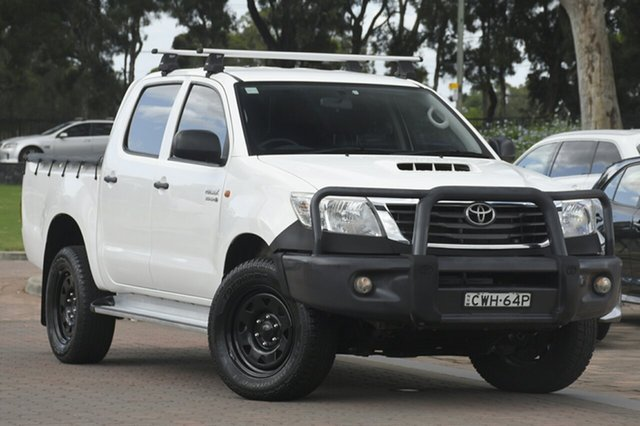 Used Toyota Hilux SR Double Cab, Southport, 2014 Toyota Hilux SR Double Cab Utility