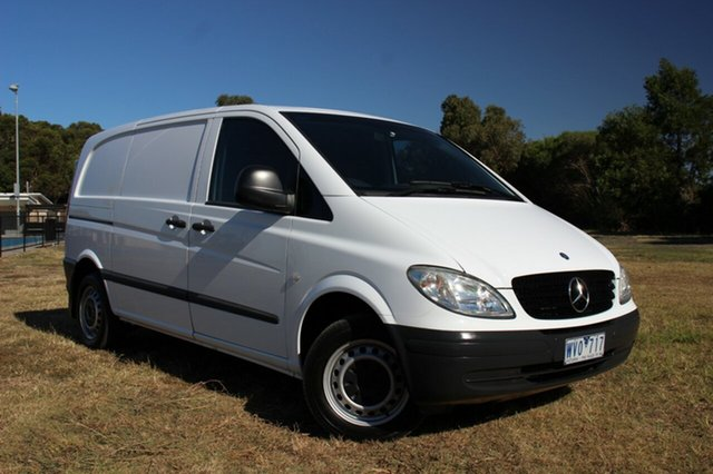 Used Mercedes-Benz Vito 111CDI Low Roof Comp, Officer, 2009 Mercedes-Benz Vito 111CDI Low Roof Comp Van