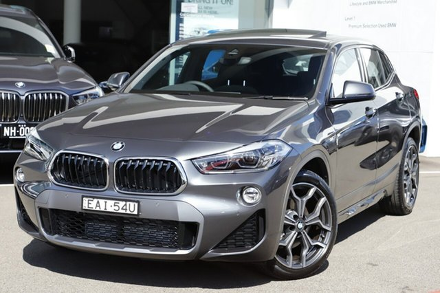 Demonstrator, Demo, Near New BMW X2 sDrive 18i M Sport X, Brookvale, 2018 BMW X2 sDrive 18i M Sport X Wagon