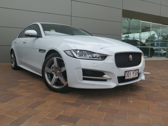 Demonstrator, Demo, Near New Jaguar XE 20d R-Sport, Toowoomba, 2016 Jaguar XE 20d R-Sport Sedan