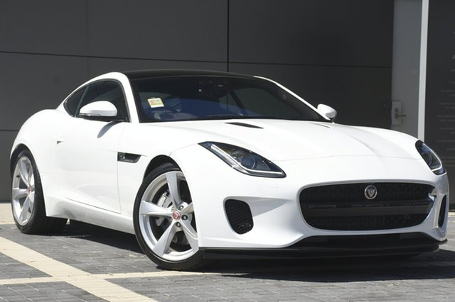Demonstrator, Demo, Near New Jaguar F-TYPE 250kW Quickshift RWD, Campbelltown, 2017 Jaguar F-TYPE 250kW Quickshift RWD Coupe