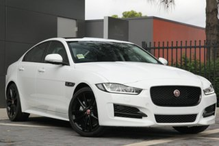 2016 Jaguar XE 20d R-Sport Sedan.