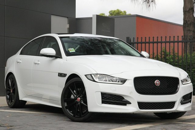 Demonstrator, Demo, Near New Jaguar XE 20d R-Sport, Campbelltown, 2016 Jaguar XE 20d R-Sport Sedan