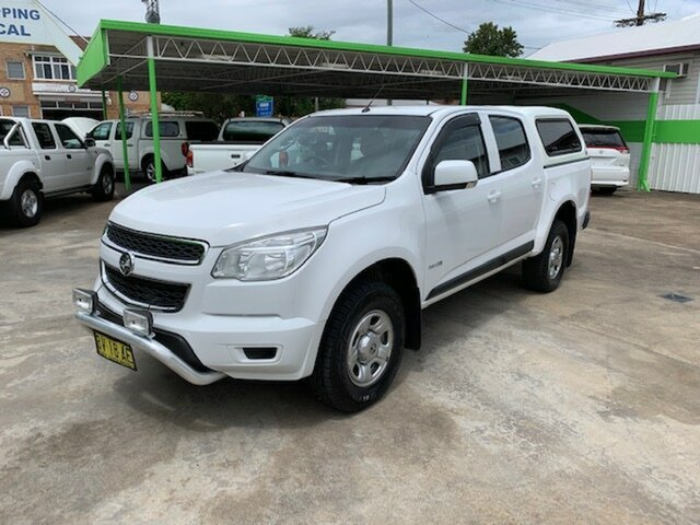 Used Holden Colorado DUAL CAB, Casino, 2013 Holden Colorado DUAL CAB Dual Cab
