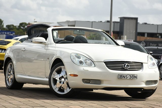 Discounted Used Lexus SC430, Southport, 2003 Lexus SC430 Convertible