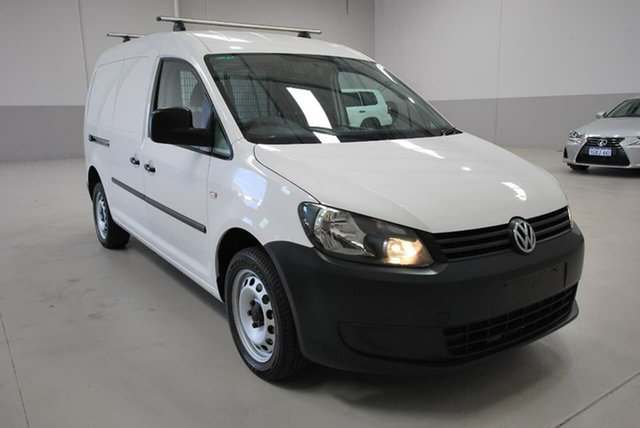 Used Volkswagen Caddy TDI250 BlueMOTION Maxi DSG, Kenwick, 2014 Volkswagen Caddy TDI250 BlueMOTION Maxi DSG Van