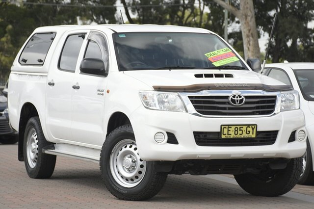 Used Toyota Hilux SR Double Cab, Southport, 2015 Toyota Hilux SR Double Cab Utility