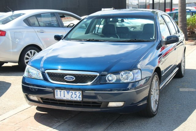Used Ford Fairmont Ghia, Cheltenham, 2005 Ford Fairmont Ghia Sedan