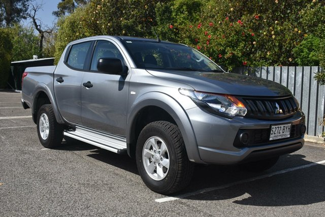 Demonstrator, Demo, Near New Mitsubishi Triton GLX+ Double Cab, Nailsworth, 2018 Mitsubishi Triton GLX+ Double Cab Utility