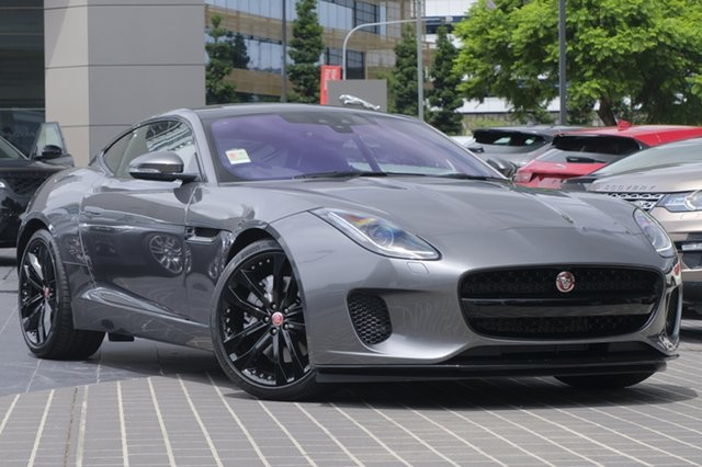 New Jaguar F-TYPE 250kW RWD, Newstead, 2018 Jaguar F-TYPE 250kW RWD Coupe