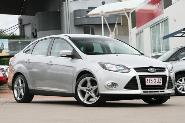 Used Ford Focus Titanium PwrShift, Indooroopilly, 2011 Ford Focus Titanium PwrShift Sedan
