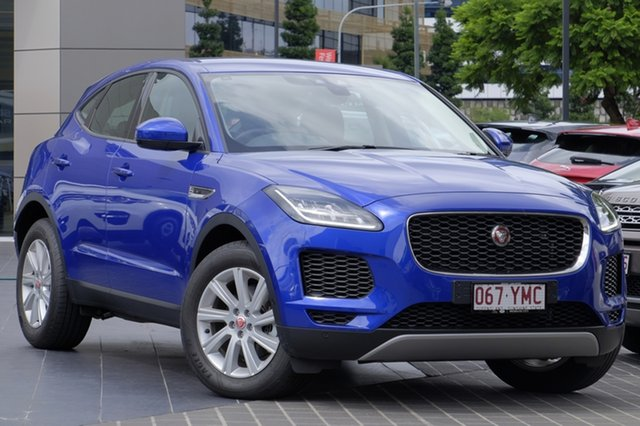 Demonstrator, Demo, Near New Jaguar E-PACE D180 AWD S, Newstead, 2018 Jaguar E-PACE D180 AWD S Wagon