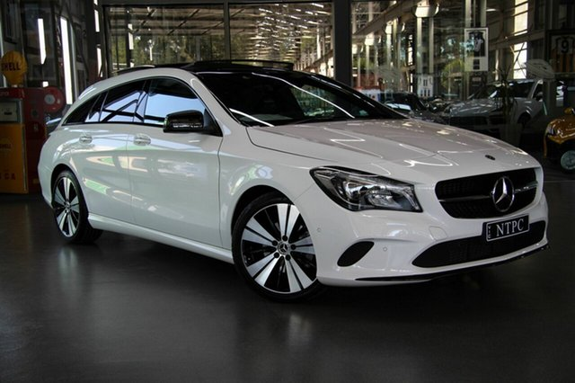 Used Mercedes-Benz CLA200 Shooting Brake DCT, North Melbourne, 2018 Mercedes-Benz CLA200 Shooting Brake DCT Wagon
