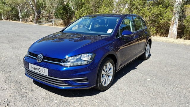 Demonstrator, Demo, Near New Volkswagen Golf 110TSI DSG Trendline, Tanunda, 2018 Volkswagen Golf 110TSI DSG Trendline Hatchback