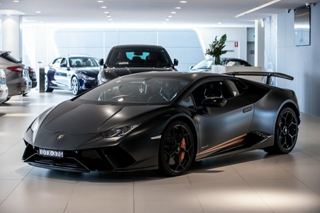 Discounted Used Lamborghini Huracan Performante D-CT AWD, Artarmon, 2018 Lamborghini Huracan Performante D-CT AWD Coupe