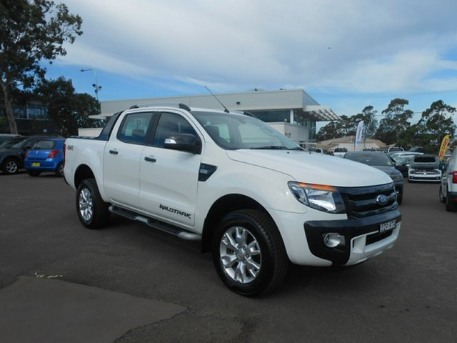 Used Ford Ranger Wildtrak Double Cab, Nowra, 2014 Ford Ranger Wildtrak Double Cab Utility