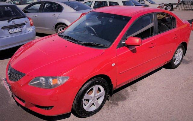 Used Mazda 3 with RWC & REG, Cheltenham, 2004 Mazda 3 with RWC & REG Sedan